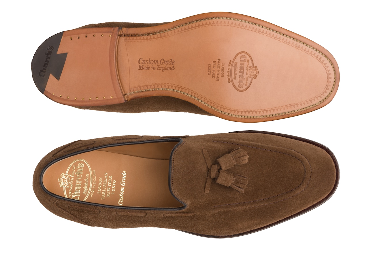 Kingsley 2 Church's Mocassino Suede Marrone