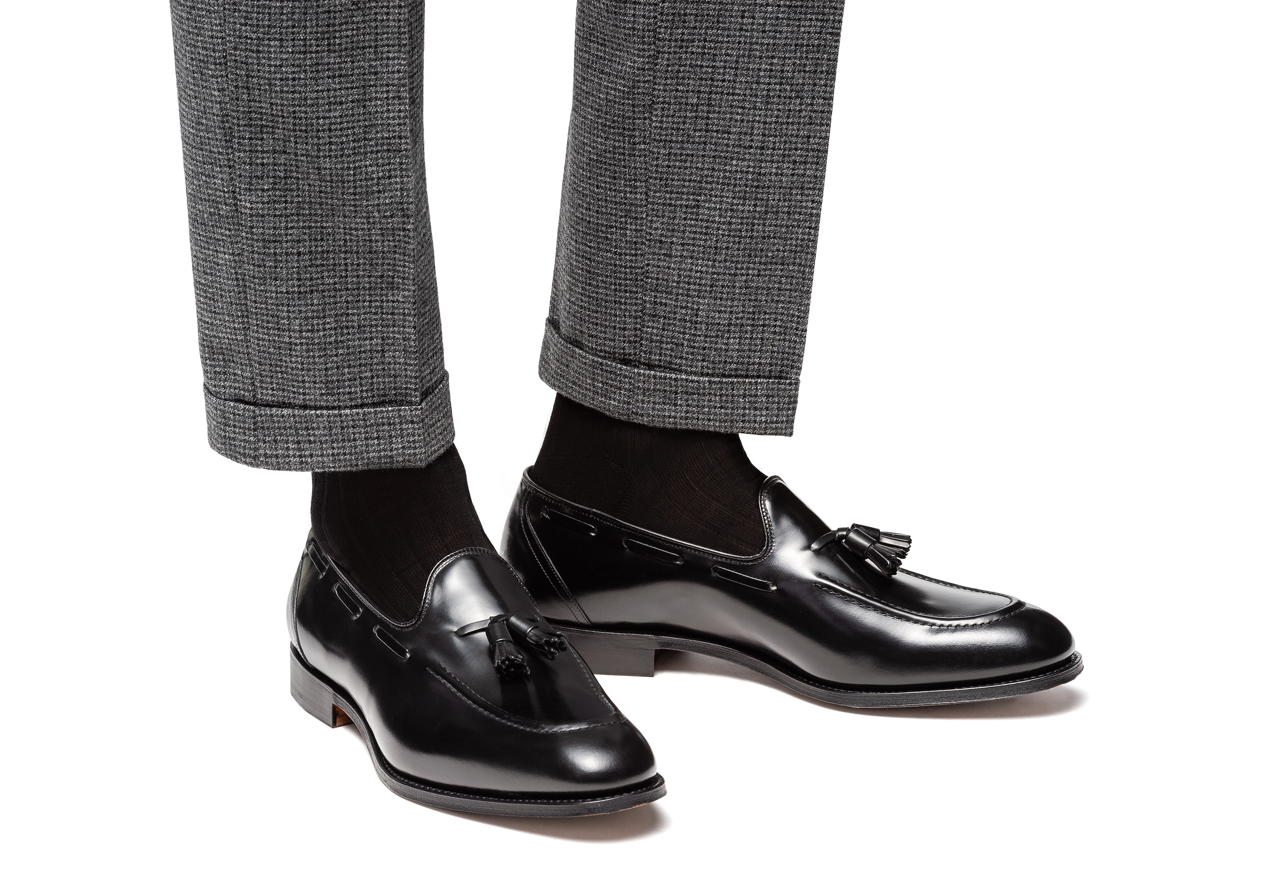 Kingsley 2 Church's Polished Binder Loafer Black