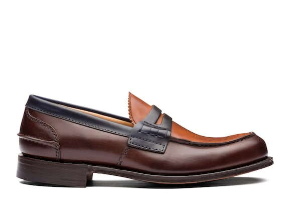 Nevada Leather Loafer Tricolor