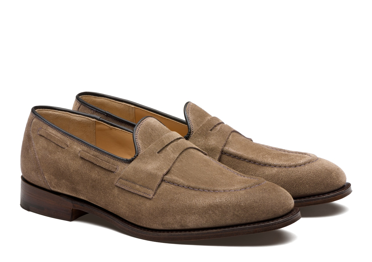 Widnes Church's Suede Loafer Grey