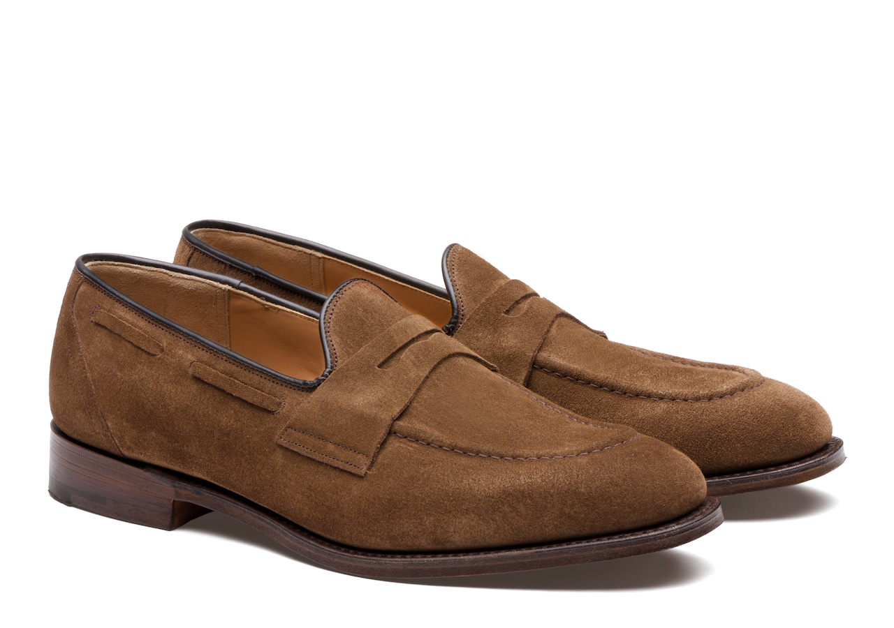 Widnes Church's Suede Loafer Brown