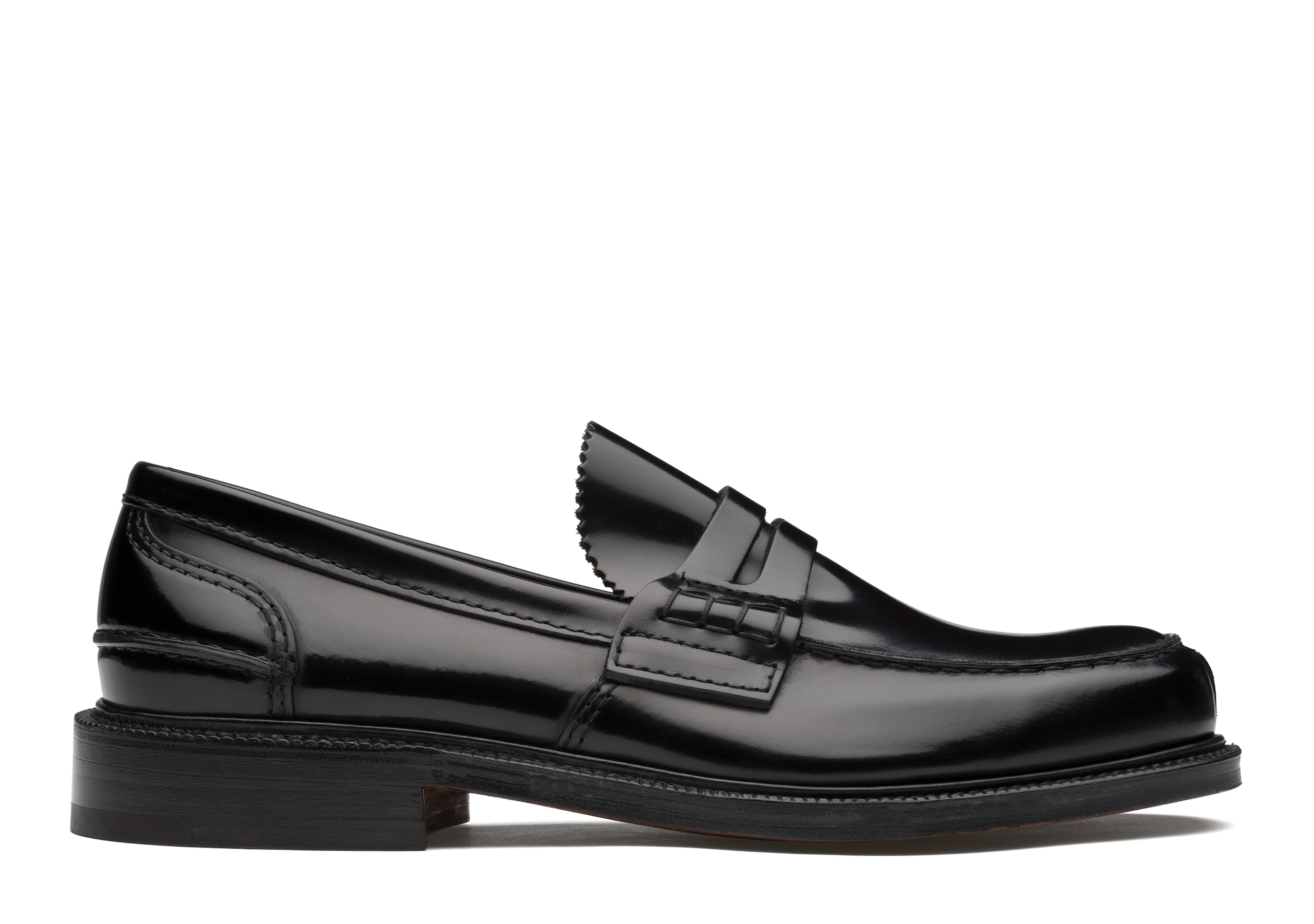 Willenhall Church's Bookbinder Fumè Loafer Black