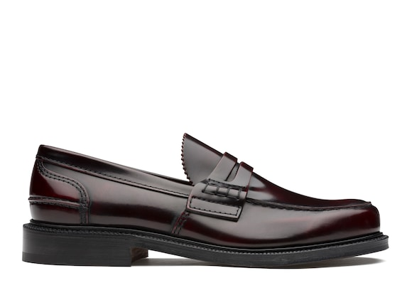 Church's Willenhall Bookbinder Fumè Loafer Burgundy