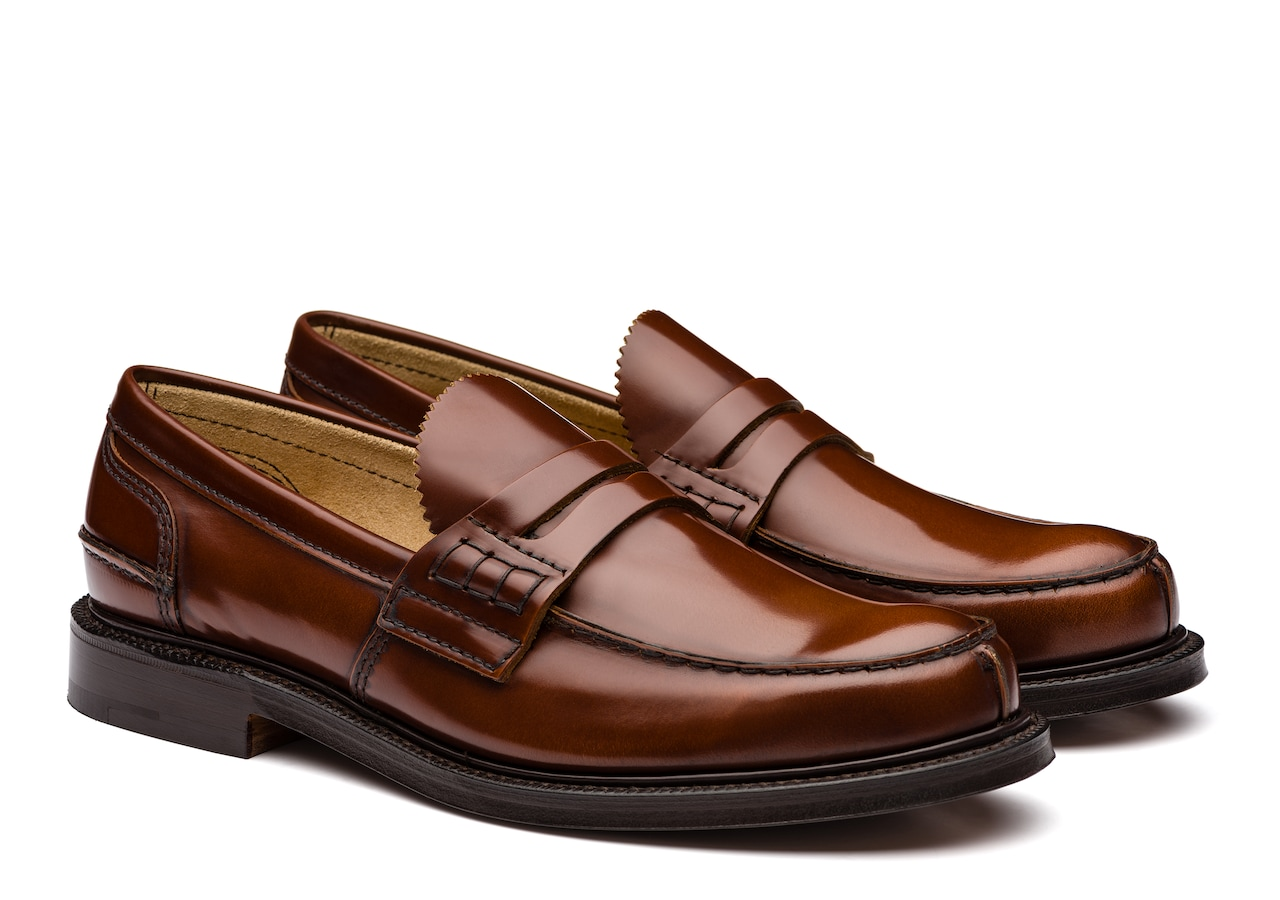 Willenhall Church's Bookbinder Fumè Loafer Brown