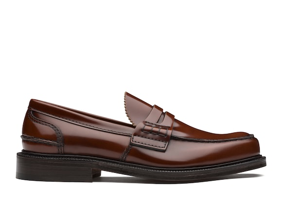 Church's Willenhall Bookbinder Fumè Loafer Tabac