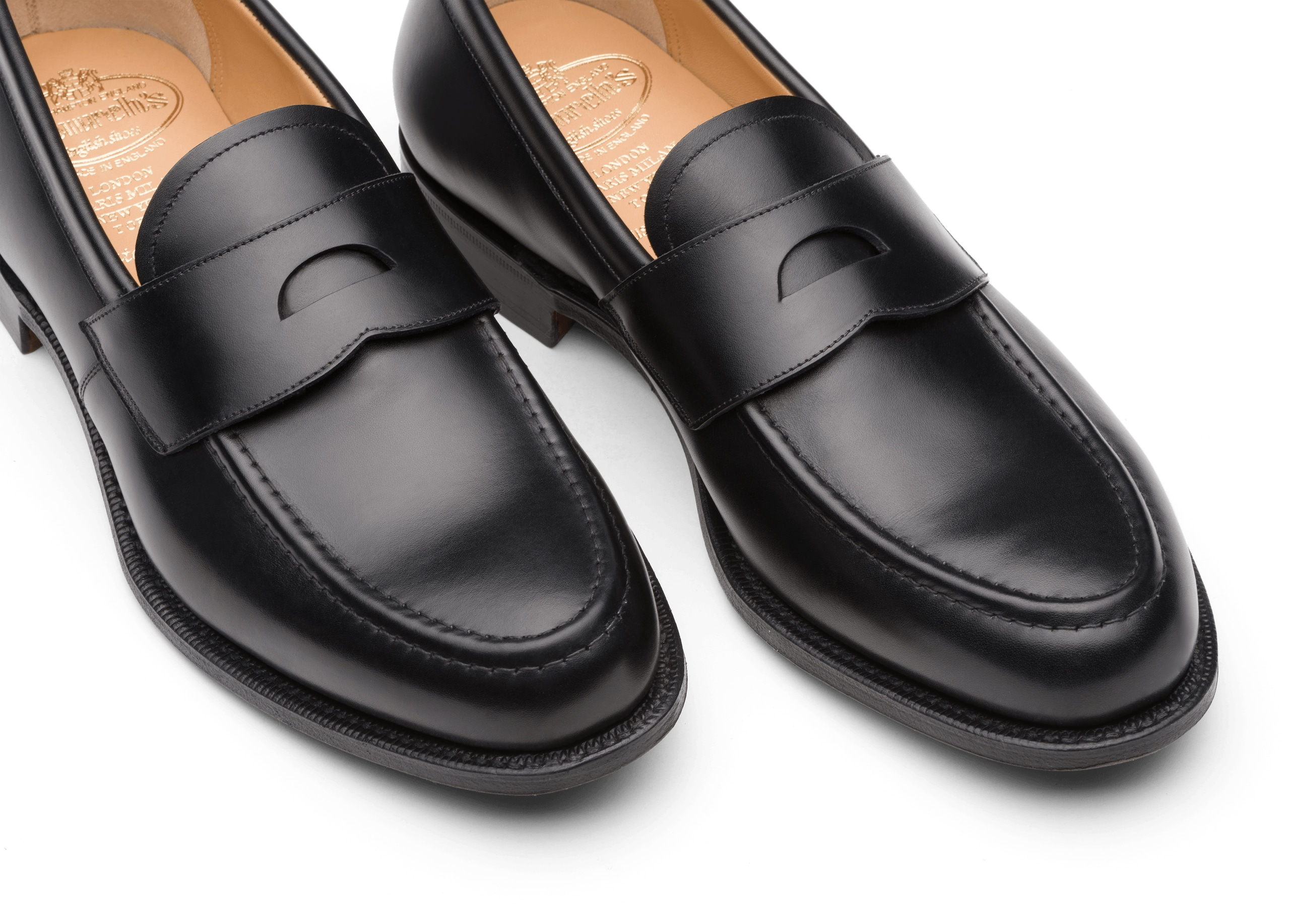 Dawley Church's Calf Leather Loafer Black