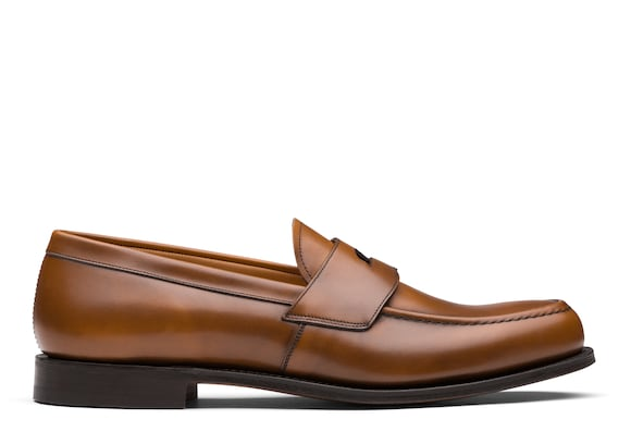 Church's true Calf Leather Loafer Walnut