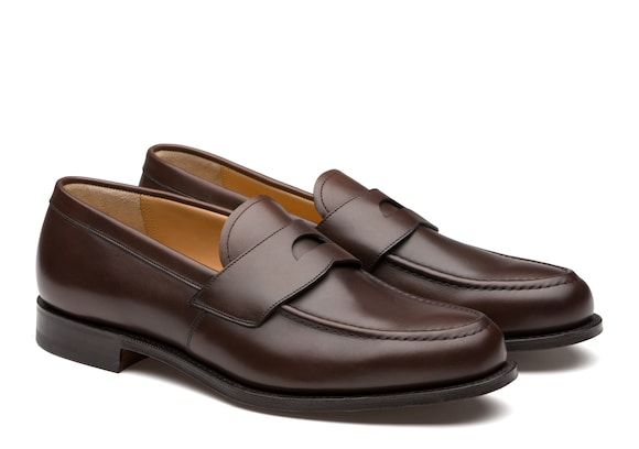 Church's Dawley Calf Leather Loafer Ebony