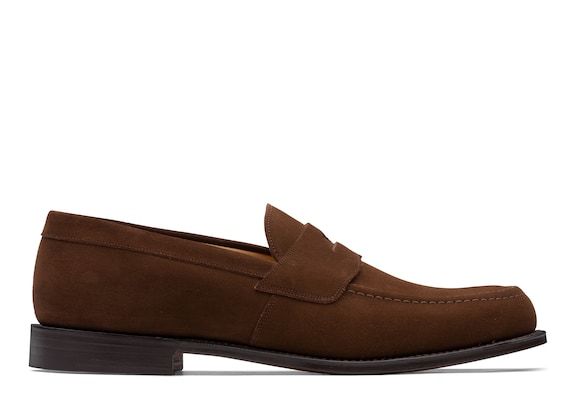 Church's Dawley Suede Penny Loafer Sigar