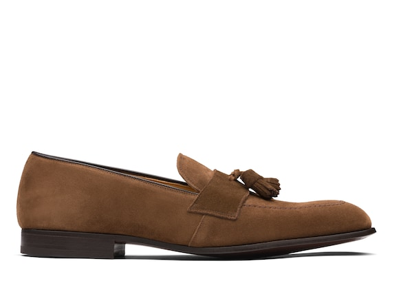 Church's  Suede Tassel Loafer Sigar