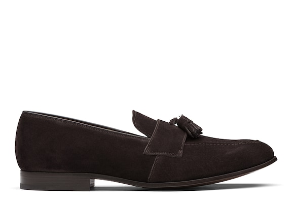 Church's true Suede Tassel Loafer Ebony