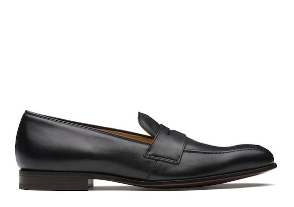 Church's Drayford Vintage Calf Leather Loafer Black