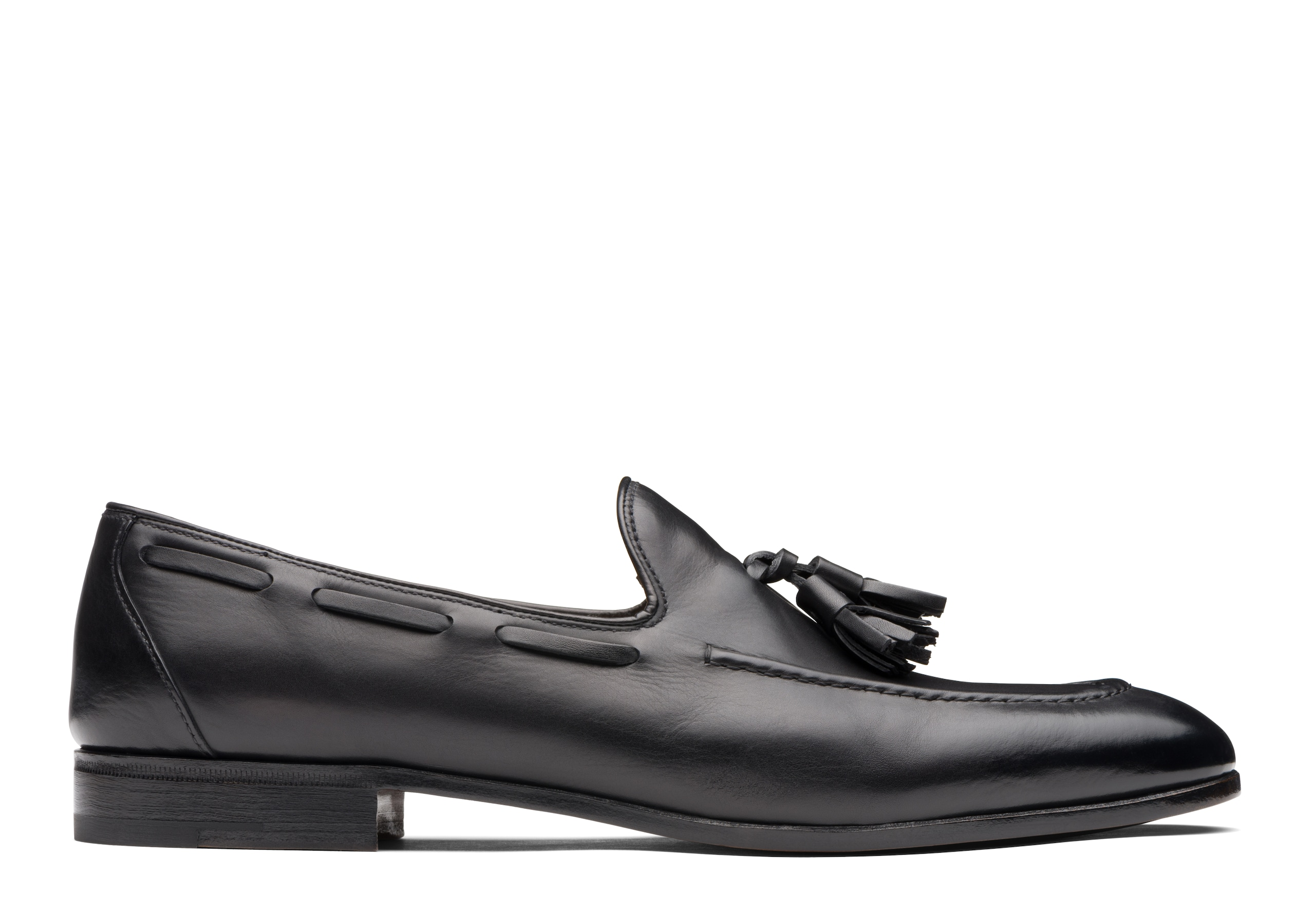 Doughton Church's Calf Leather Loafer Ebony Black