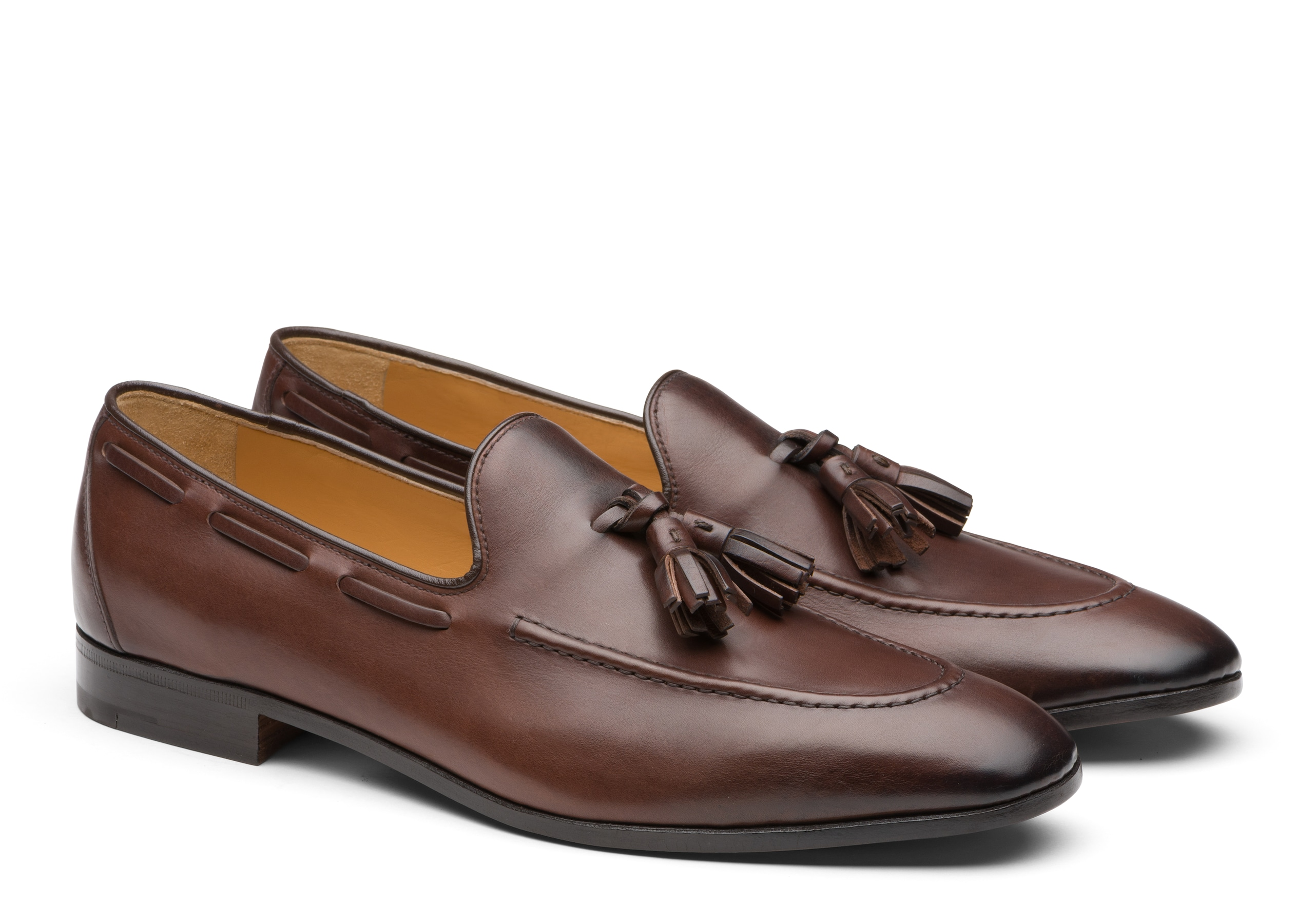 Doughton Church's Calf Leather Loafer Ebony Brown