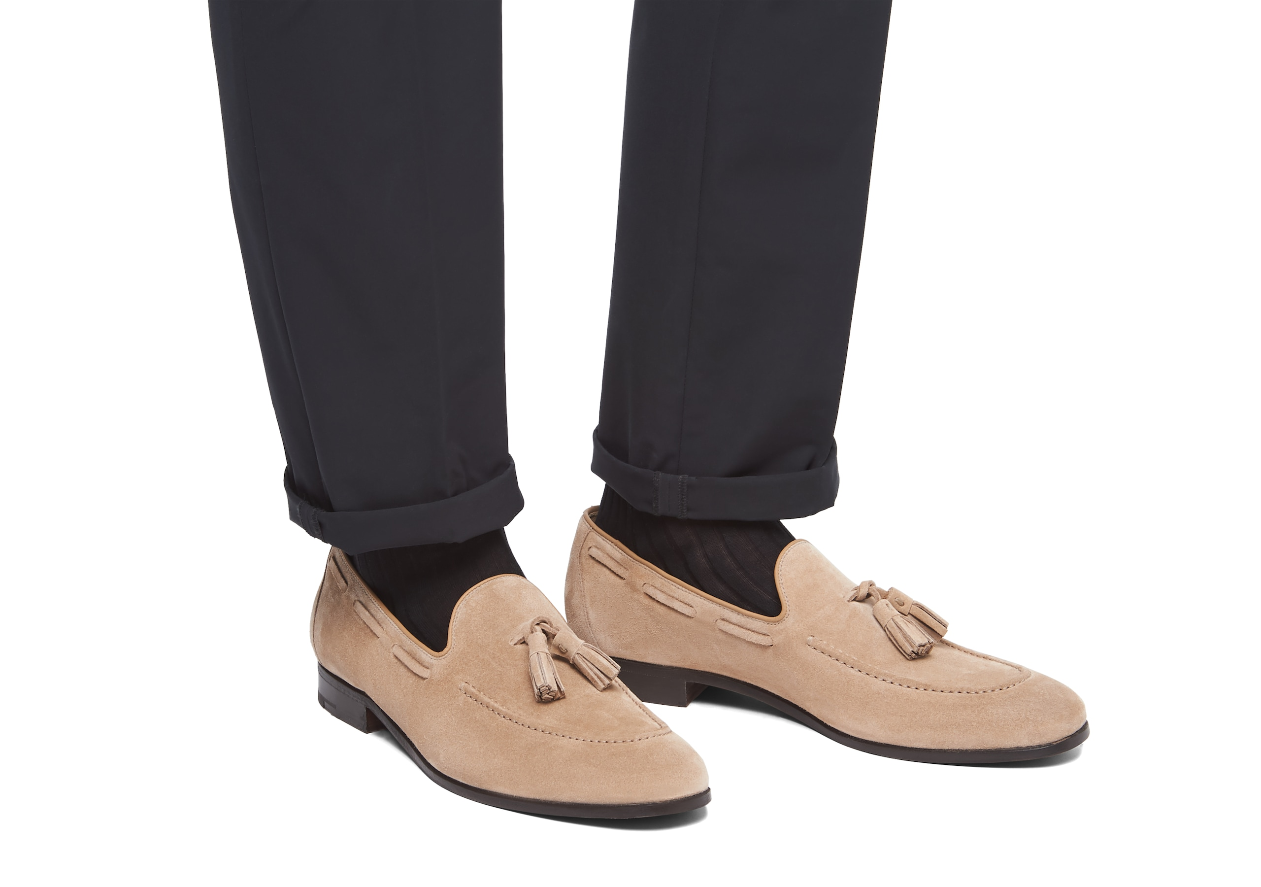 Doughton Church's Suede Loafer Sigar Neutral