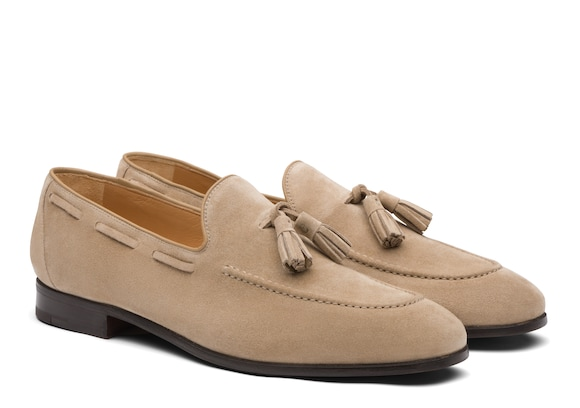 Church's Doughton Suede Loafer Stone