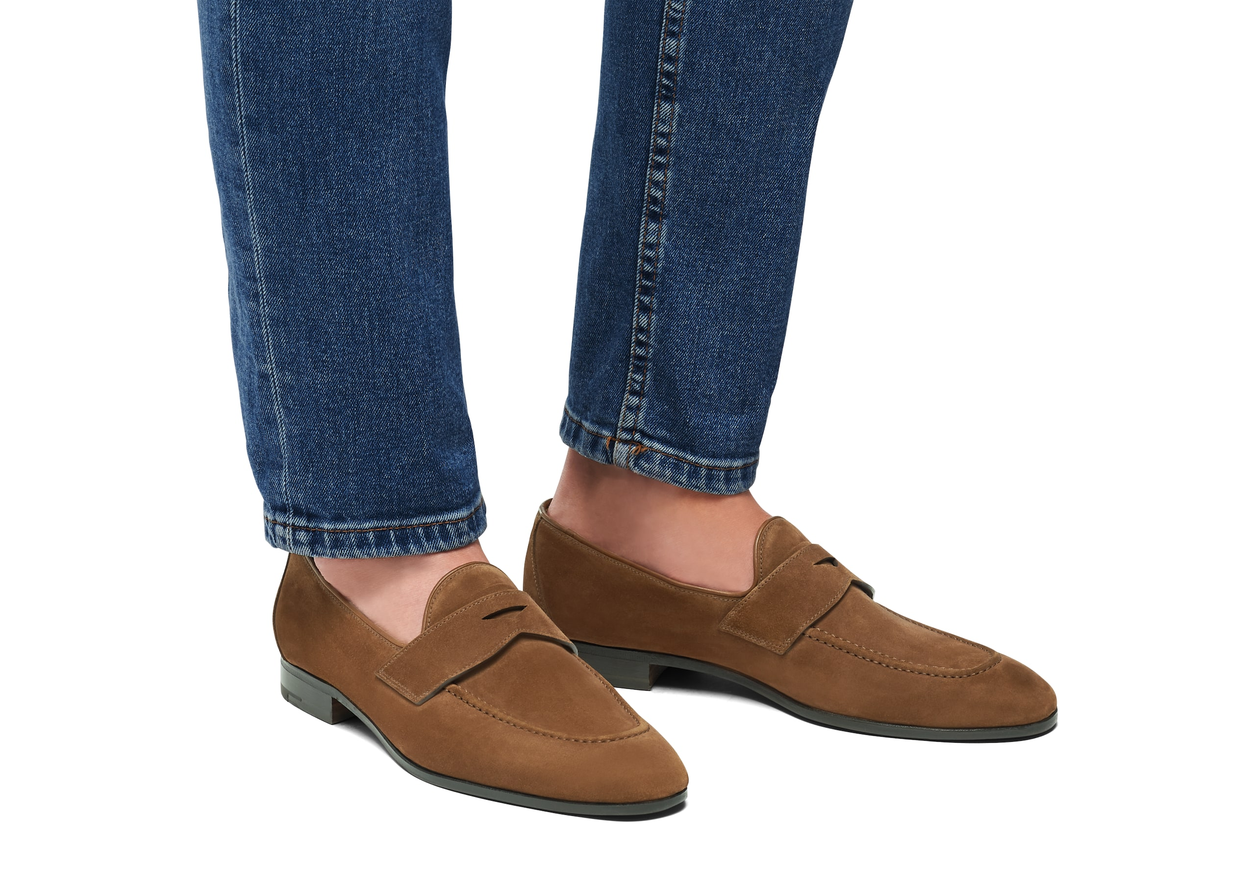 Dundridge Church's Suede Loafer Sigar Brown