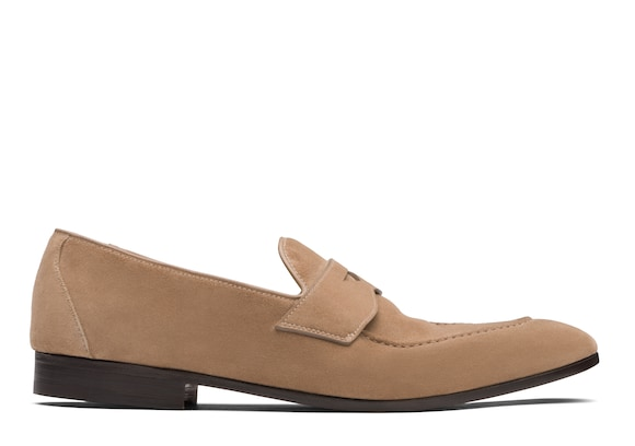 Church's true Suede Loafer Sigar Stone
