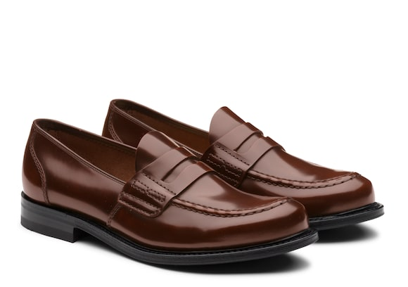 Church's Farsley Bookbinder Fumè Penny Loafer Tabac