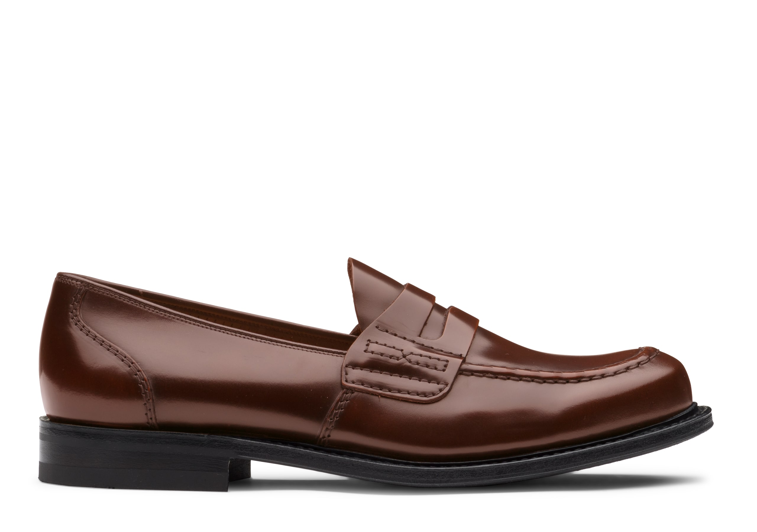 Farsley Church's Bookbinder Fumè Penny Loafer Brown