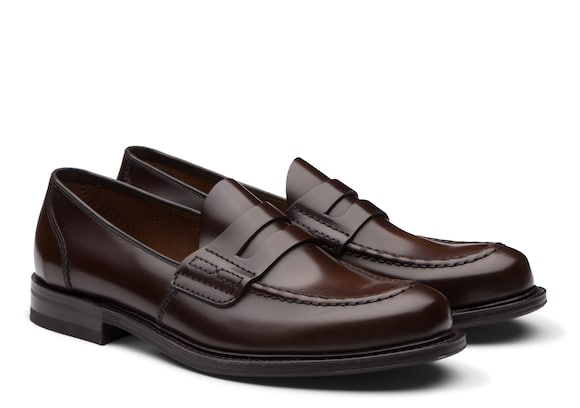 Church's Farsley Bookbinder Fumè Penny Loafer Burnt