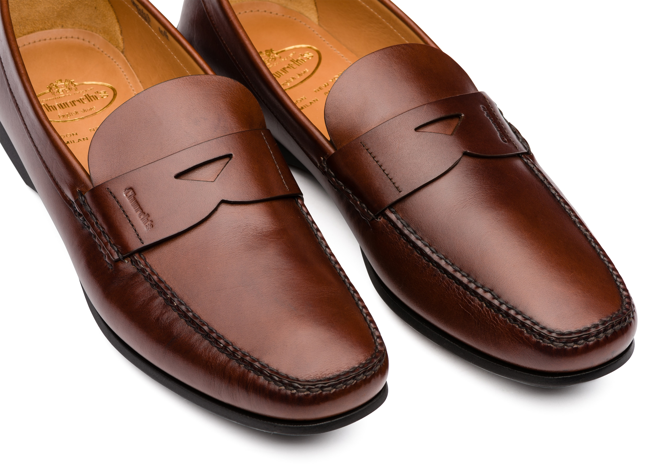 Karl Church's Calf Leather Loafer Brown