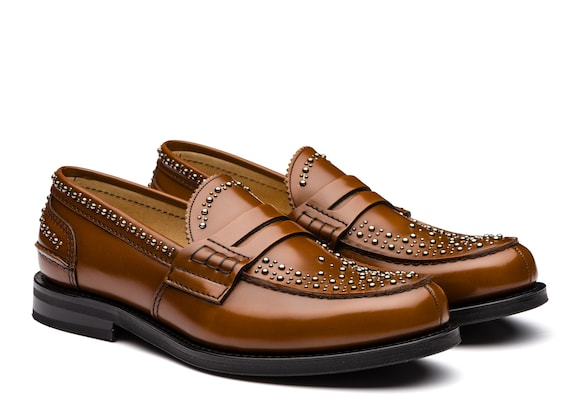 Church's true Polished Binder Loafer  Stud Sandalwood