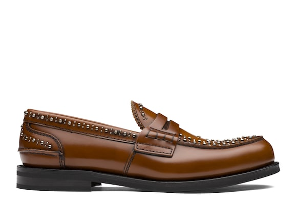 Church's true Polished Binder Loafer  Stud