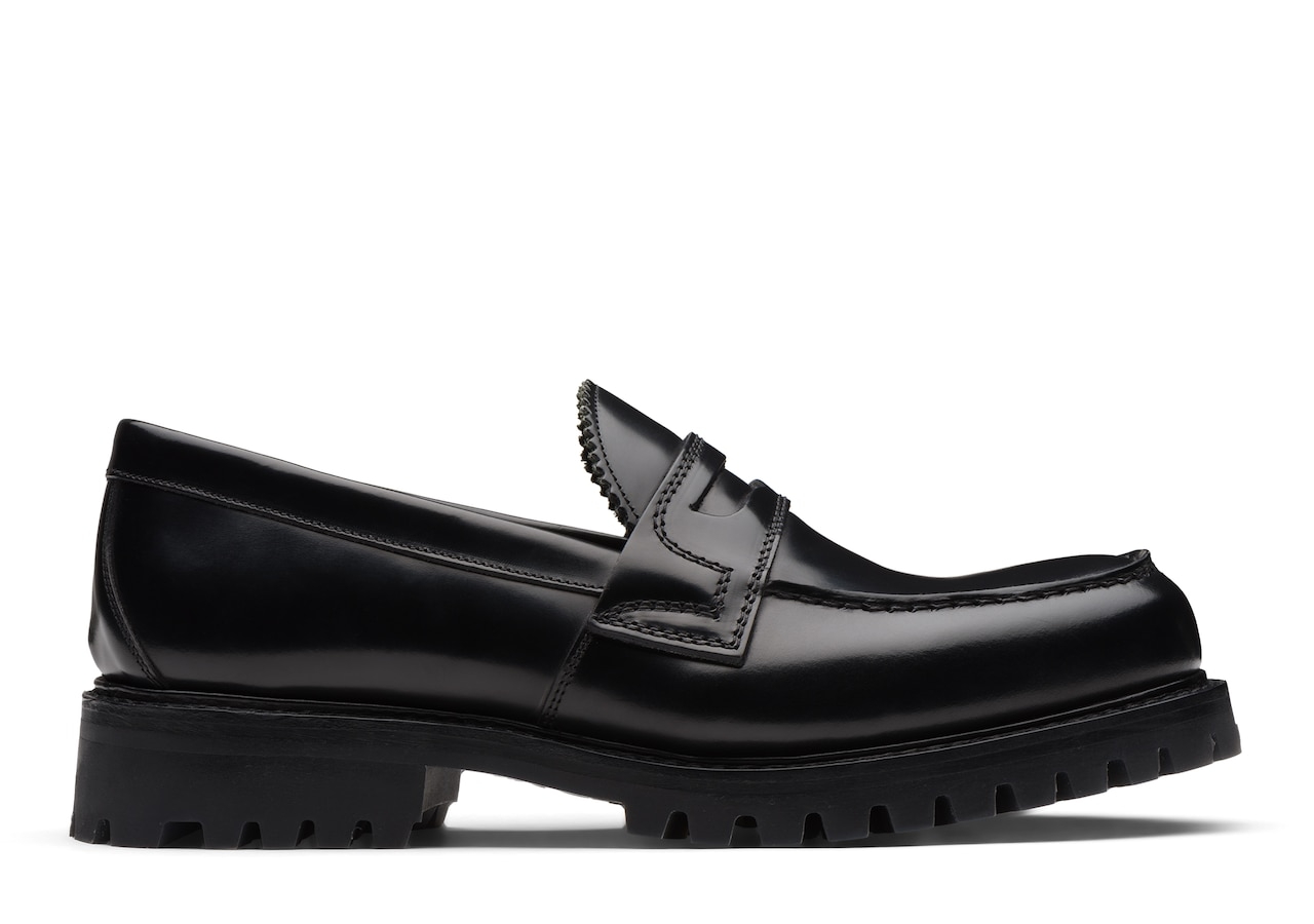 Capstone Church's Polished Binder Loafer Black