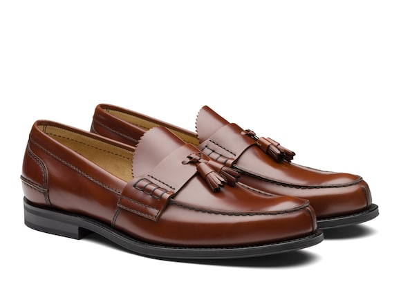 Church's Tiverton r Bookbinder Fumè Tassel Loafer Tabac