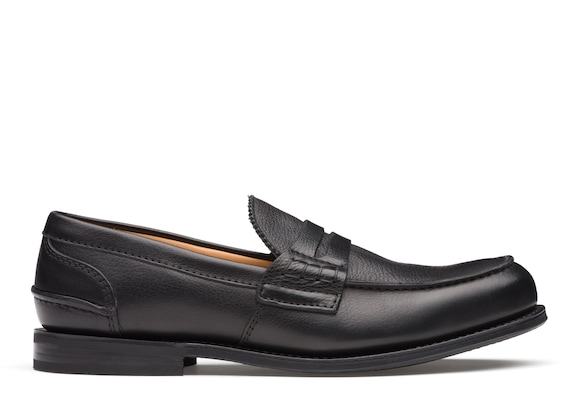 Church's Pembrey r 2 Soft Grain Calf Leather Loafer Black