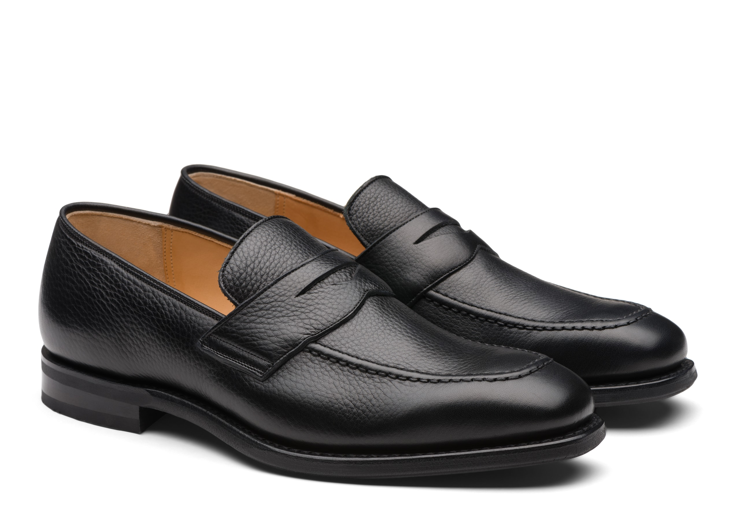 Corley Church's Soft Grain Calf Loafer Black
