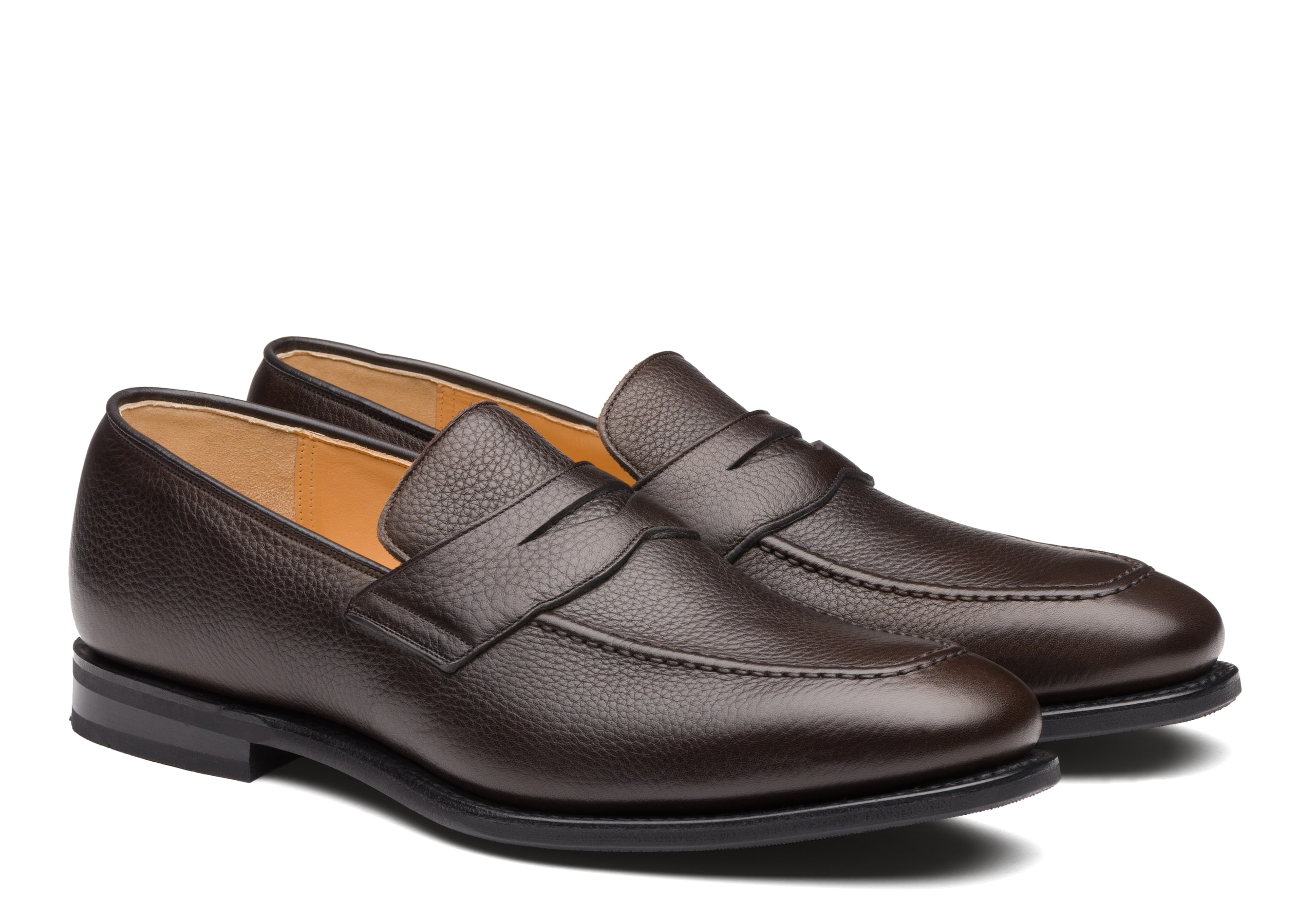 Corley Church's Soft Grain Calf Loafer Brown