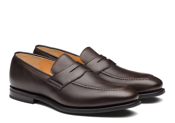 Church's true Soft Grain Calf Loafer Ebony