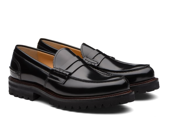 Church's true Polished Binder Loafer Black