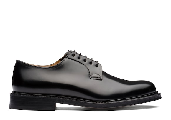 Church's Shannon Derby in Pelle di Vitello Spazzolato Nero