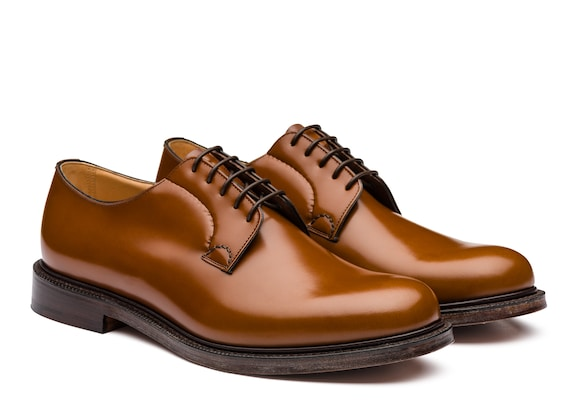 Church's Shannon Derby in Pelle di Vitello Spazzolato Sandalwood