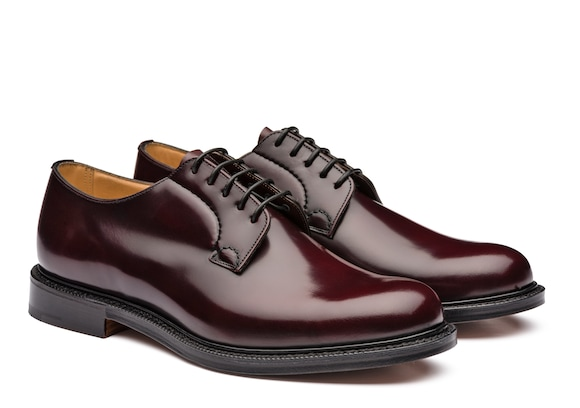 Church's  Derby in Pelle di Vitello Spazzolato Burgundy