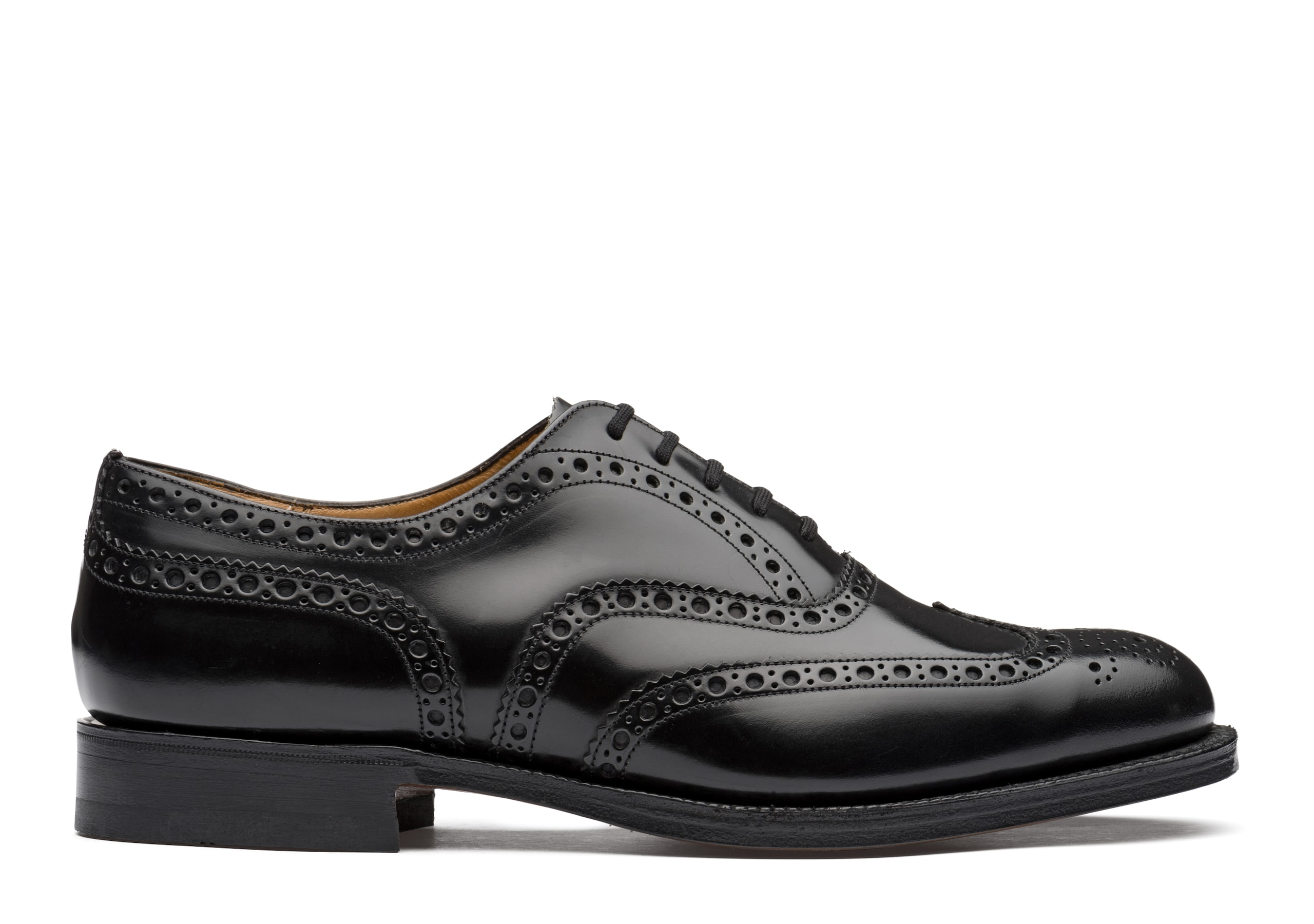 Burwood Church's Polished Binder Oxford Brogue Black