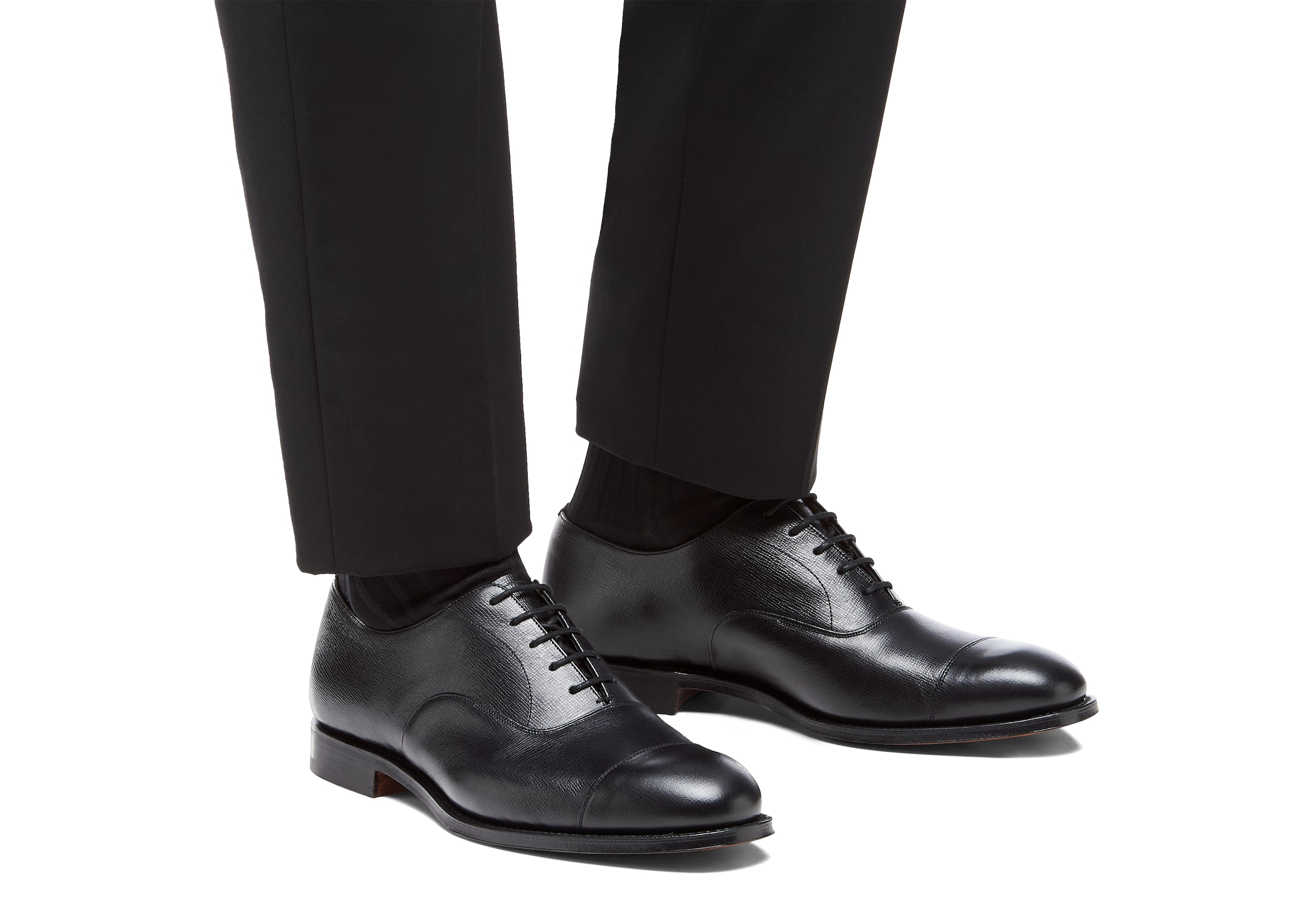 Consul Church's St James Leather Oxford Black