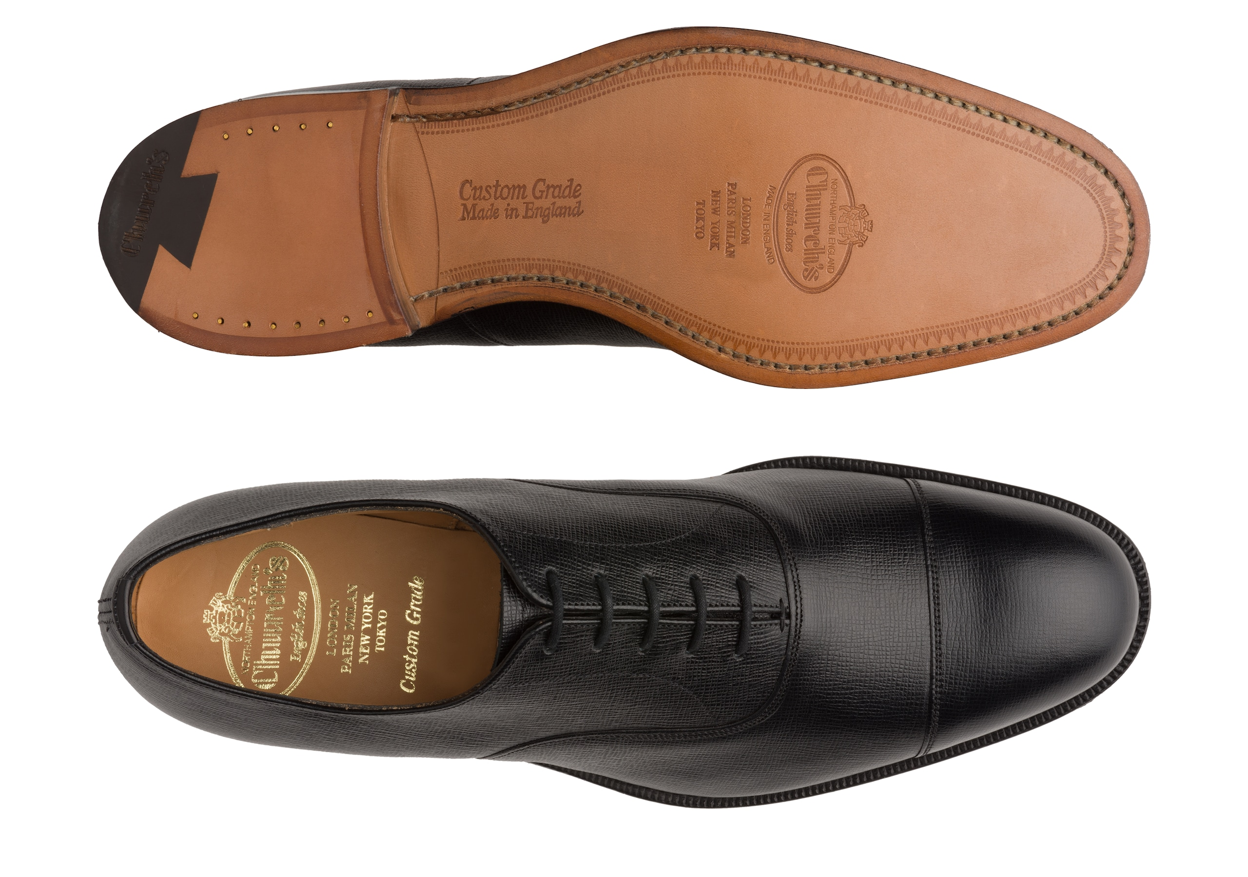 Consul 173 Church's St James Leather Oxford Black