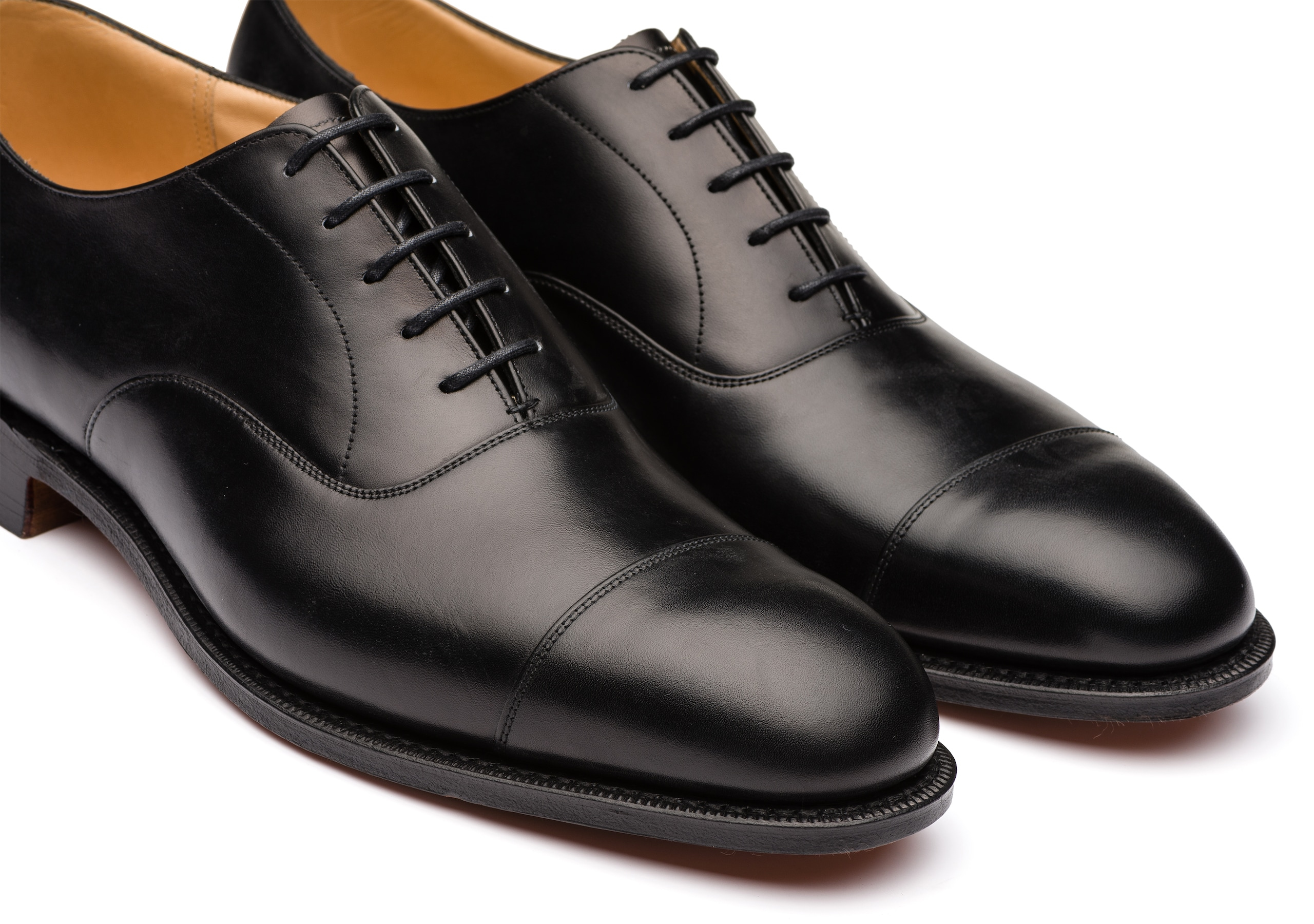 Consul Church's Oxford in Pelle di Vitello Nero