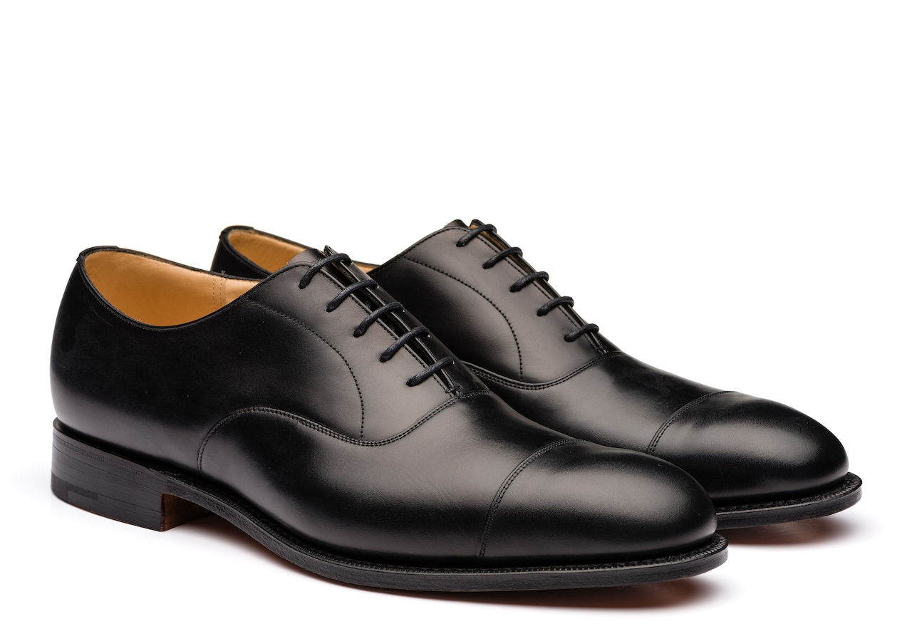 Consul Church's Oxford en Cuir de Veau Noir