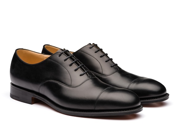 Church's Consul 173 Oxford in Pelle di Vitello Nero
