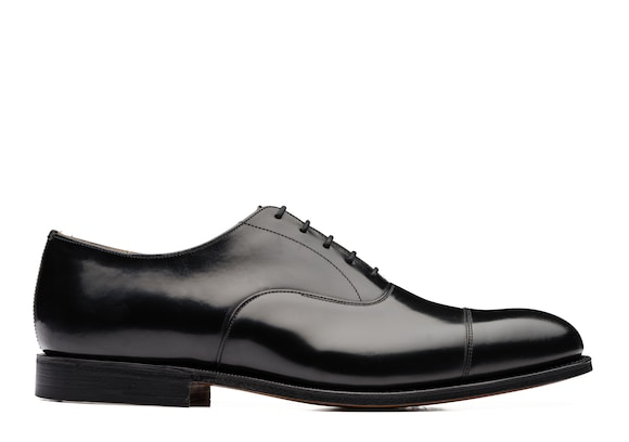Church's Consul 173 Oxford in Pelle di Vitello Spazzolato Nero
