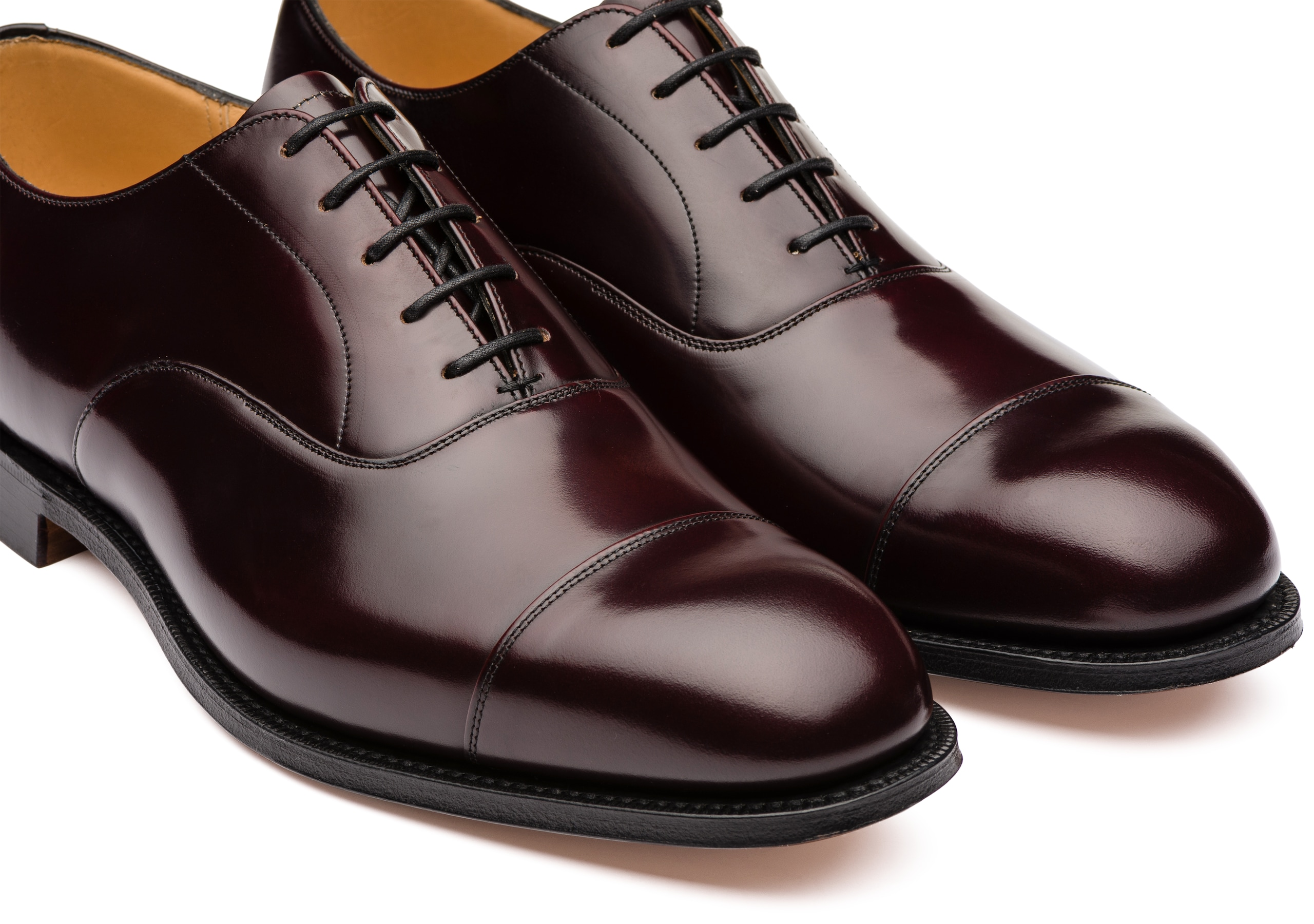 Consul Church's Polished Binder Oxford Burgundy