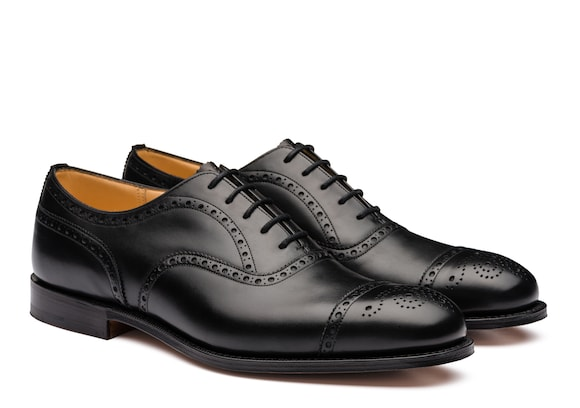 Church's true Richelieu Oxford en Cuir de Veau Noir