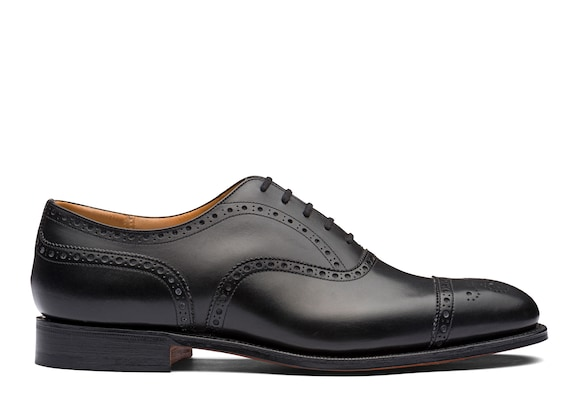 Church's Diplomat Richelieu Oxford en Cuir de Veau Noir