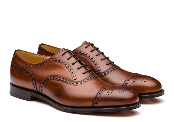 Church's Diplomat 173 Nevada Leather Oxford Brogue Walnut