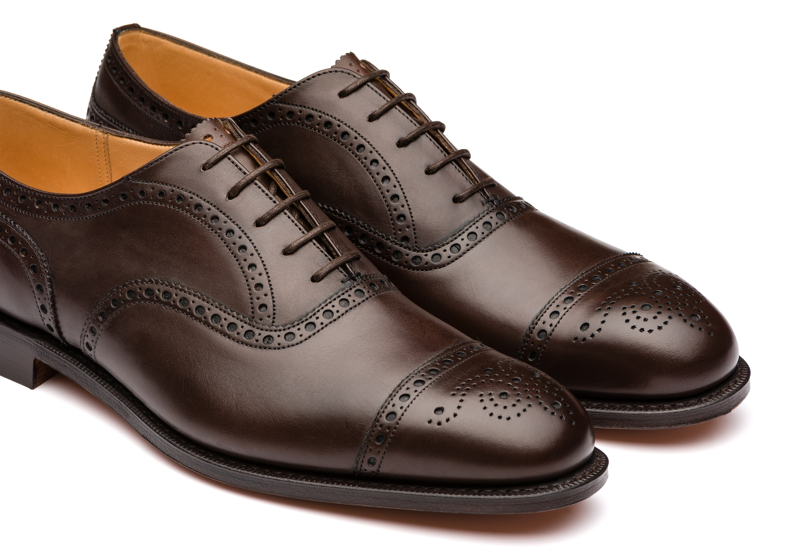 Diplomat Church's Nevada Leather Oxford Brogue Brown